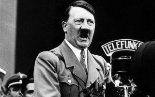 Особенности речей Адольфа Гитлера, как оратора