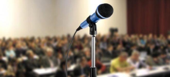 По каким критериям оценивается публичное выступление?