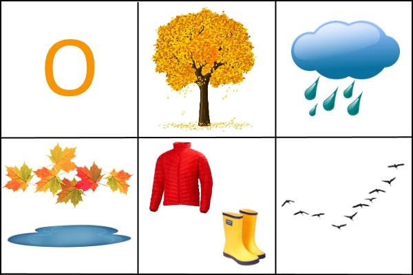 Мнемотаблица Осень