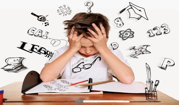 Ребенок не может разобрать буквы