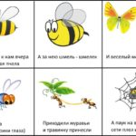 """Мнемотаблица """"Пчела"""""""