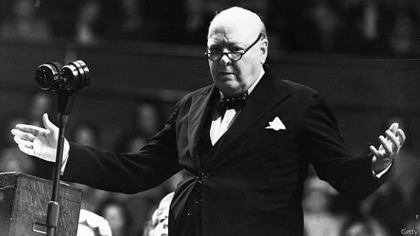 Черчилль - великий оратор